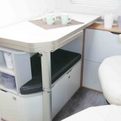 Kastenwagen Mooveo Van 60EB -Sitzbereich