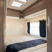 Wohnmobil Mooveo TEI-60FB Schlafbereich 1